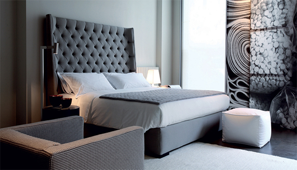 Modern Upholstered Bed