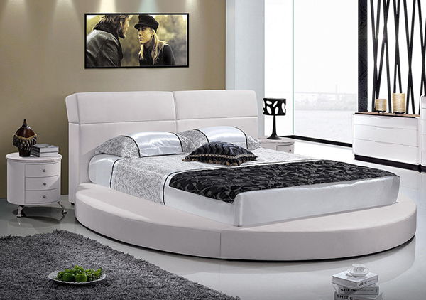 15 stylish and gorgeous round bed designs bedroomm
