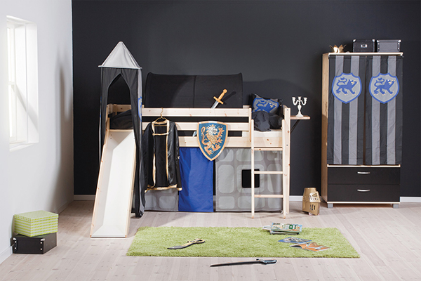 Thuka Trendy 15- Cabin Bed with Slide