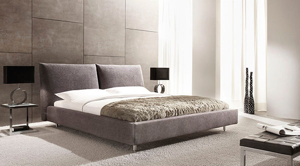 ID 550 Upholstered Double Bed