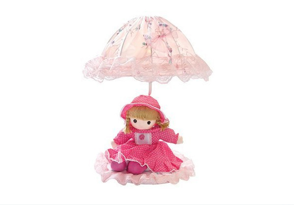 Pink Baby Doll Table Lamp