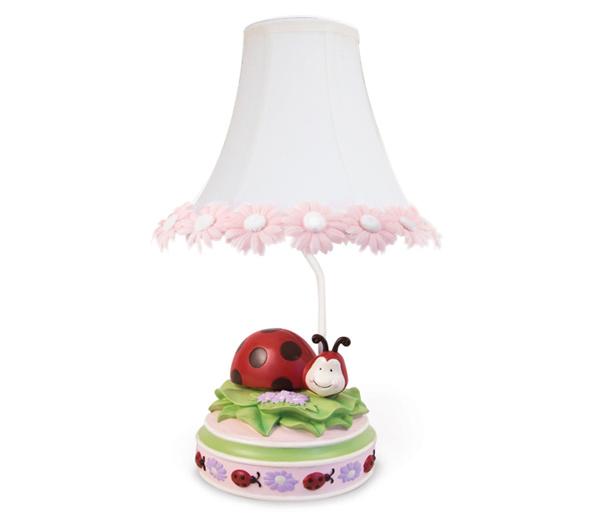 Ladybug Lamp, Ladybug Light and Decor
