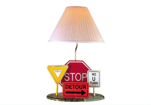 Highway Signs Lamp