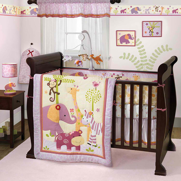 Lil' Friends 3 Piece Bedding Set by Lambs & Ivy