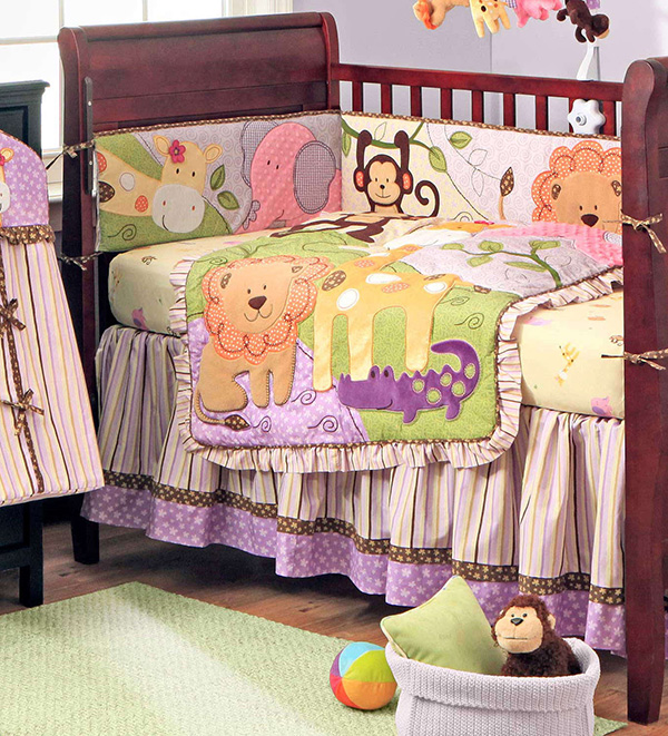 Jungle BFF Crib Bedding Set by Bananafish