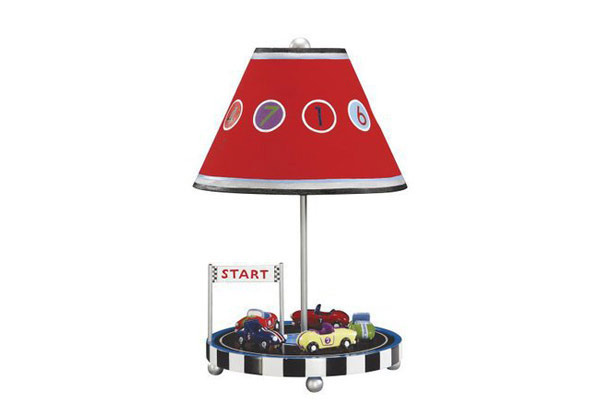 Retro Racers Table Lamp
