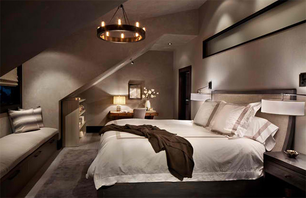 15 contemporary bedrooms in earth colors bedroomm Earth tone bedroom
