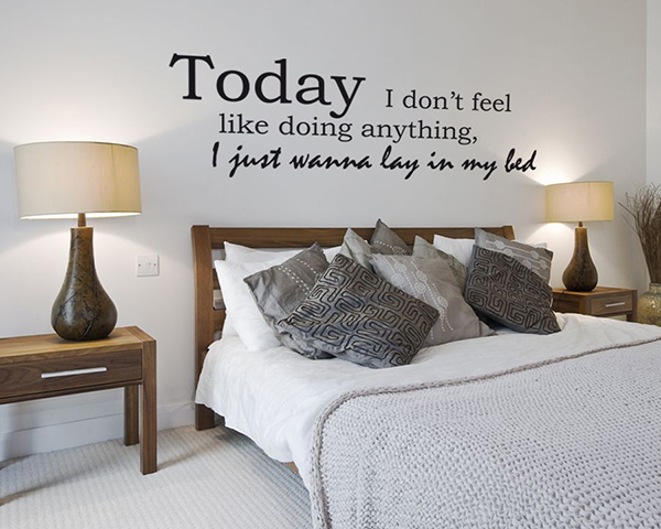 Bruno Mars Wall Sticker Quote