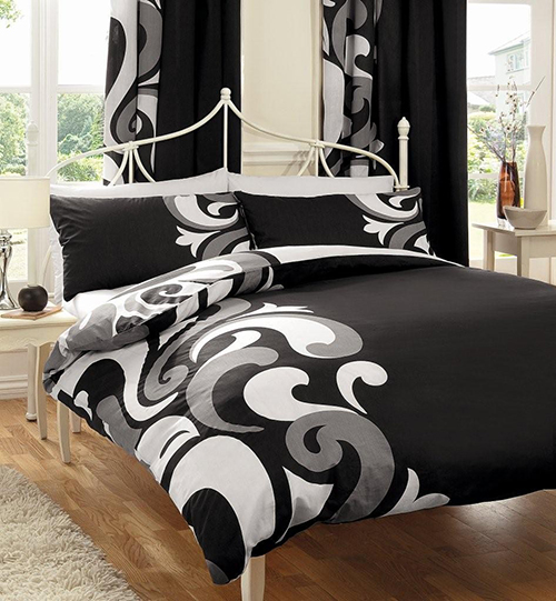 Versatile Prints Collection Grandeur Black