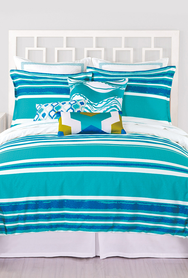 Horizon Stripe Duvet Set