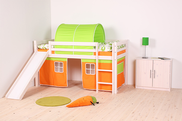 Thuka Hit 22 - Cabin Bed with Slide, Tent & Tunnel