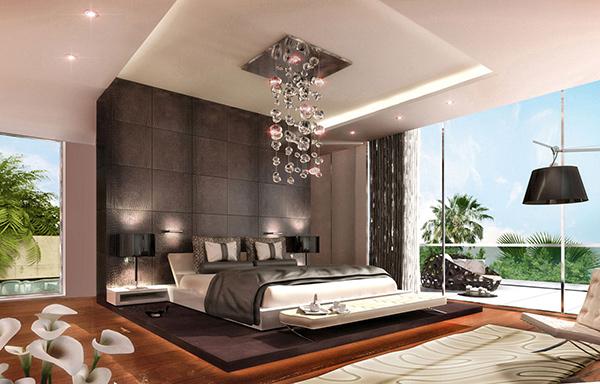 Masculine Master Bedroom: 15 Gray Masculine Bedrooms