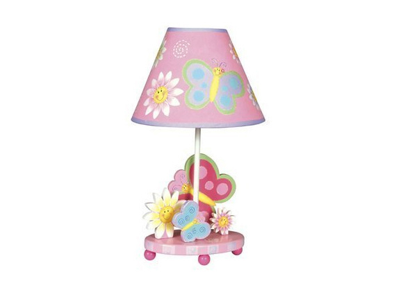 G83367 Butterfly Kids Table Lamp