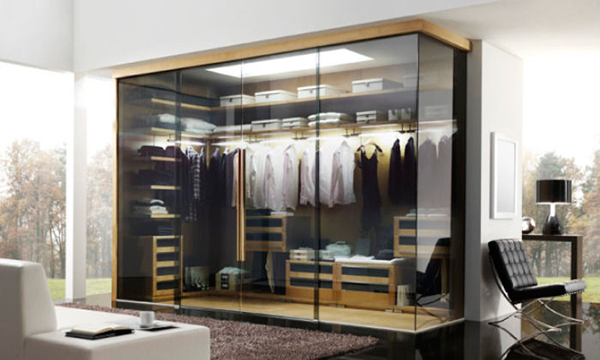 15 Stunning Glass Wardrobe Designs Bedroomm