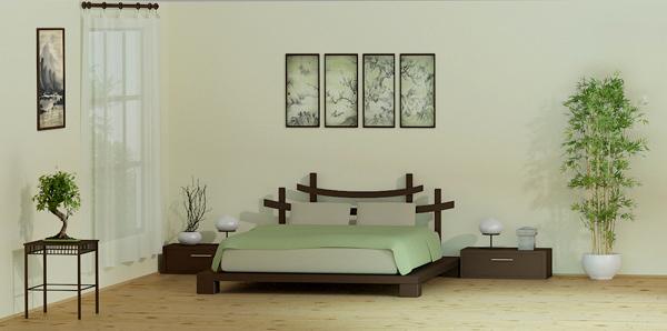 Zen Style Bedroom 2012