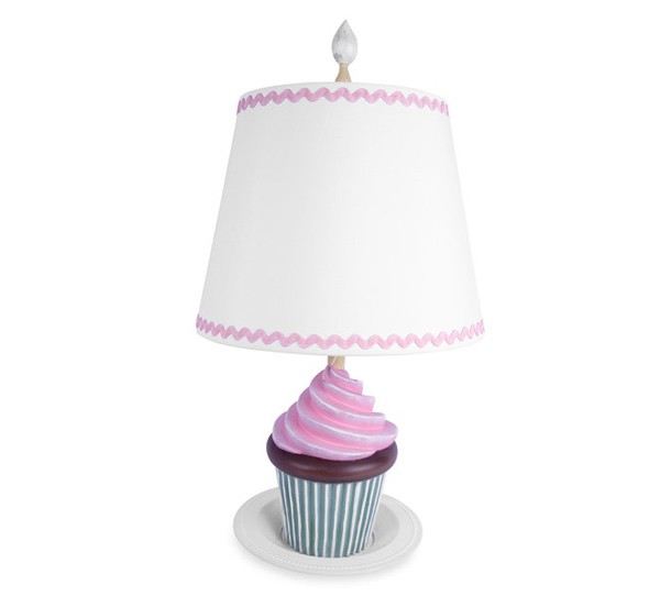Cupcake Deliciousness Juvenile Table Lamp