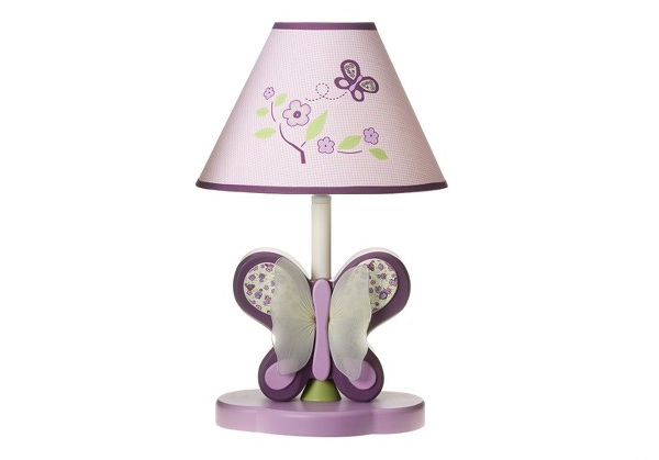 CoCaLo Sugar Plum Lamp Base and Shade