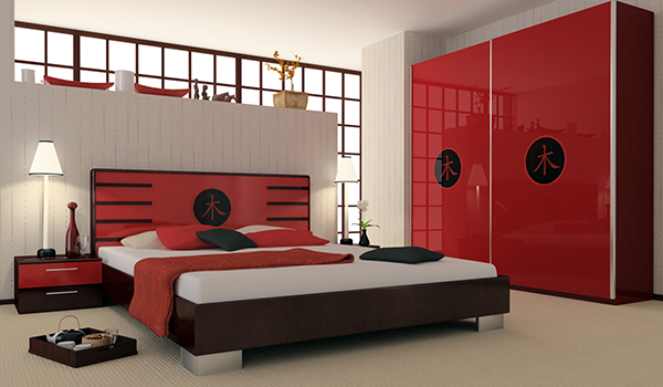 Asian Style Bedroom