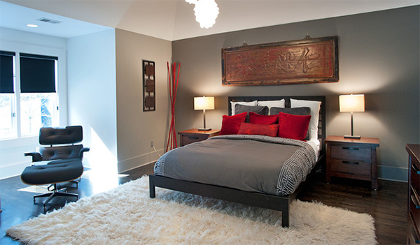 Contemporary Asian Bedroom