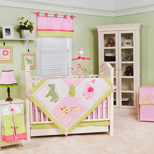 Pam Grace Jungle Jill 10 Piece Crib Set