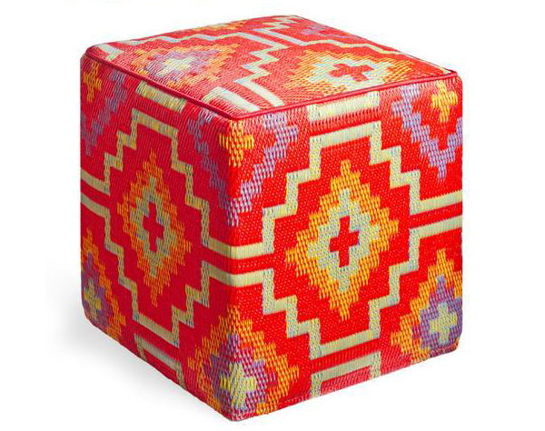 Lhasa - Orange & Violet Cube